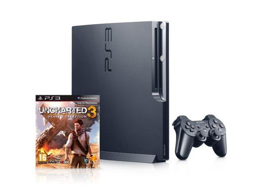 Passatempo IA Farma - PlayStation3 + Uncharted 3 - Ps3+game